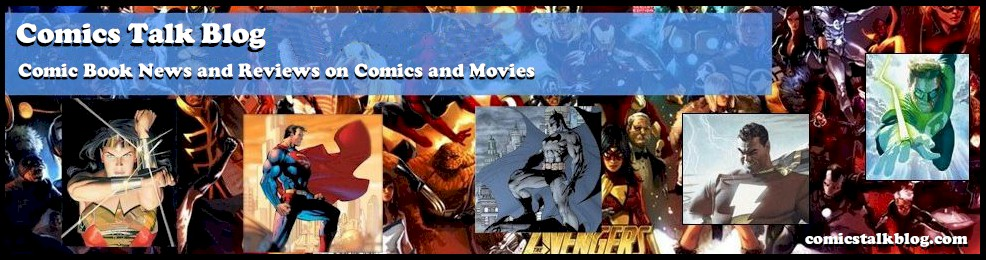 Comics Talk Blog