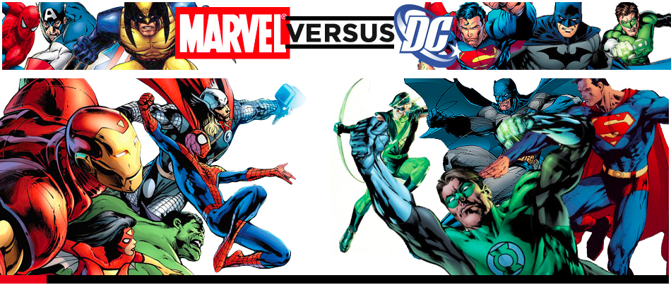 DC UNIVERSE VS Marvel