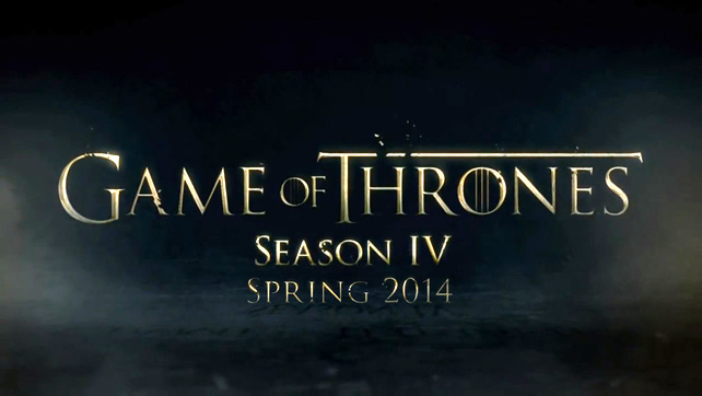 'Game of Thrones' Season 4 Premiere 'Two Swords'