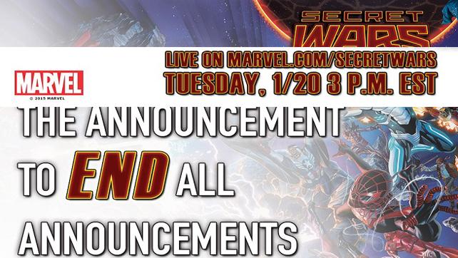Marvel Secret Wars Live Kick Off