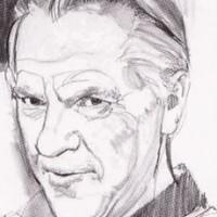 Portrait of Curt Swan by Stan Drake