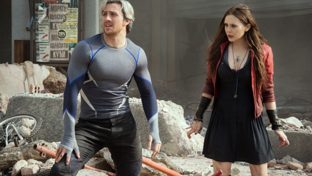 The Maximoff Twins in Age Of Ultron Trailer