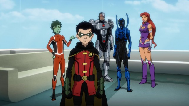 Justice League vs. Teen Titans is Coming